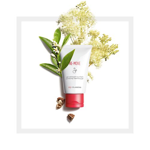 My Clarins RE-MOVE gel nettoyant purifiant