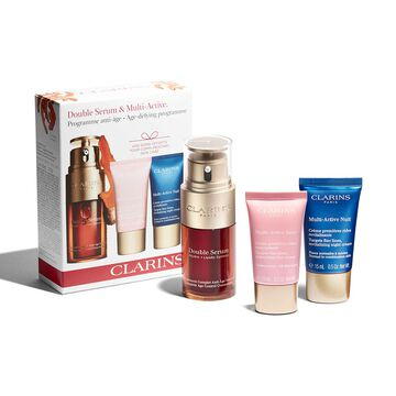 Double Serum e Multi-Active. Programa antienvelhecimento.