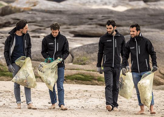 Plastic Odyssey para acabar com a poluição