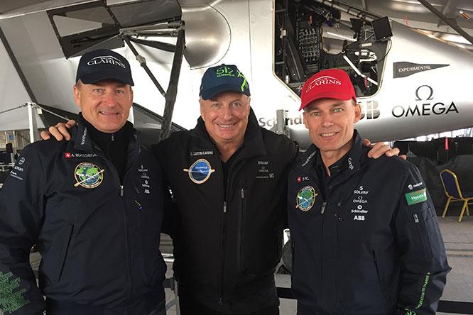 Solar Impulse, uma aventura tecnológica e humana apoiada pela Clarins desde 2008.