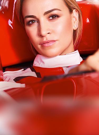 Manequim piloto de fórmula 1